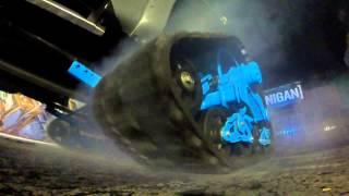 [HOONIGAN] Ken Block's RaptorTRAX AWD Burnout!