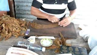 getlinkyoutube.com-Fabrication d'un cigare à Pinar del Rio (Cuba)