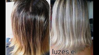 getlinkyoutube.com-Matizando cabelo alaranjado pós luzes