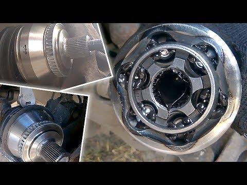 Замена ШРУС от А до Я - видео инструкция по снятию и замене наружного ШРУСа Ауди А6 С5 и Пассат Б5