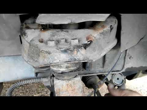 Замена шаровой опоры на Hyundai Starex