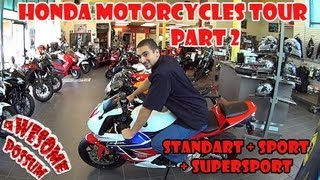 How to Ride a Motorcycle - Types of Motorcycles - Standard, Sport and Supersport
