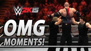 getlinkyoutube.com-WWE 2K15: All OMG Moments Including The Shield's Triple Powerbomb!