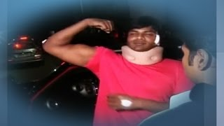 getlinkyoutube.com-Hero Manchu Manoj Injured In Road Accident