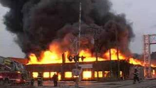 getlinkyoutube.com-3-11 Fully Involved Warehouse Fire With Explosions
