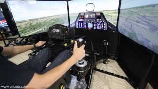 getlinkyoutube.com-Vesaro V-Spec Motion Flight Simulator