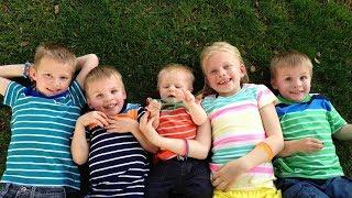 getlinkyoutube.com-24 Hours With 5 Kids on a Sunny Day