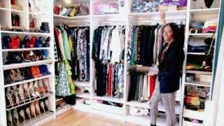 getlinkyoutube.com-My Closet Setup (Highly Requested & Super Detailed :-)
