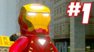 getlinkyoutube.com-LEGO MARVEL SUPER HEROES - Gameplay Walkthrough Part 1
