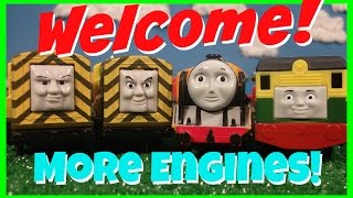 getlinkyoutube.com-Meet More Engines New to Toy Stew! Trackmaster/Thomas and Friends Engines!