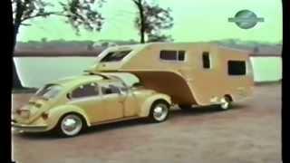 getlinkyoutube.com-VW Bug Fifth Wheel Trailer FOUND.  Forgotten Volkswagen Camper.  1 of a kind VW accessory.