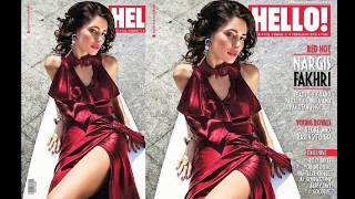 Nargis Fakhri Hot Photoshoot Video 2016