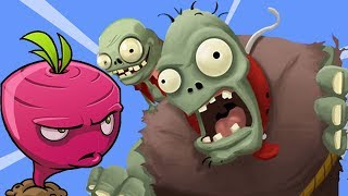 getlinkyoutube.com-Plants vs Zombies Adventure - Beet In Action New Boss Coming PVZ on Facebook Walkthrough Part 10