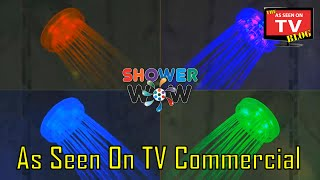 Shower Wow As Seen On TV Commercial Buy Shower Wow As Seen On TV LED Shower Head