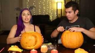 getlinkyoutube.com-Pumpkin Carving Fun ♥