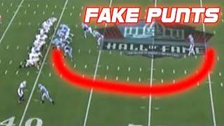 NFL Best Fake Punts Ever (Compilation)