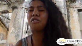 Caylah la Slameuse à Diego Suarez - Hotel de la marine