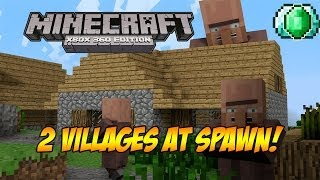 "getlinkyoutube.com-Minecraft Xbox 360: ""BEST SURVIVAL SEED"" (Seed Spotlight #02) (TU16)"