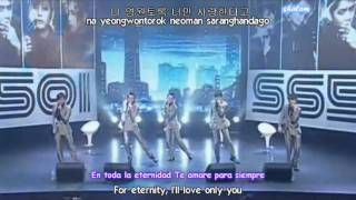 getlinkyoutube.com-SS501 - Let Me Be The One Live sub (Español + Romanizacion )