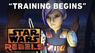 Training Begins - Trials of the Darksaber Preview | Star Wars Rebels