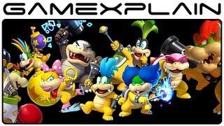 getlinkyoutube.com-All Koopaling, Bowser Jr, & Bowser Boss Fights in New Super Mario Bros. U (Wii U Gameplay Spoilers!)
