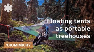 getlinkyoutube.com-Tentsile tree tents: floating treehouses mimic spider webs