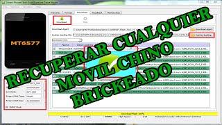 getlinkyoutube.com-TUTORIAL FLASH TOOL RECUPERAR CUALQUIER MOVIL CHINO BRICKEADO | Hack Veneno