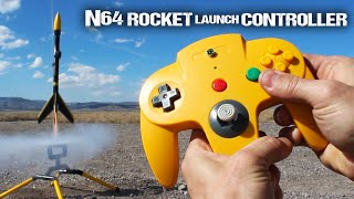 How To Make An N64 Rocket Launch Controller