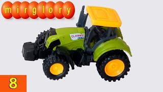 getlinkyoutube.com-Машинки мультфильм - Город машинок - 8 серия: Трактор. Развивающие мультики