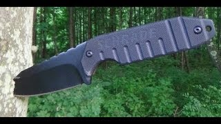 getlinkyoutube.com-REVIEW: Schrade SCHF16 Neck Knife