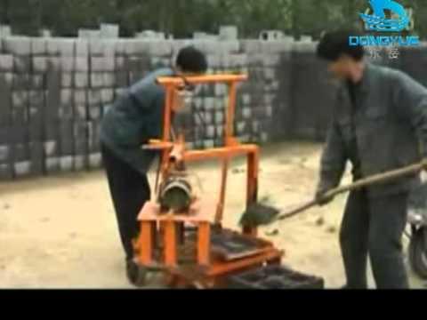 MAQUINA DE BLOCO MANUAL,Máquina para fabricar blocos de concreto