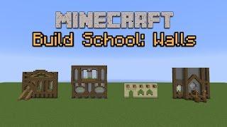 getlinkyoutube.com-Minecraft Build School: Walls