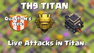 getlinkyoutube.com-TH9 Titan | Live Raids/ half a session | Clash of Clans