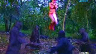 getlinkyoutube.com-Darna fights in forest