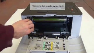 getlinkyoutube.com-How to remove and clean Samsung Transfer Belt CLP-365