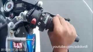 getlinkyoutube.com-Suzuki Raider 150/Belang 150/Satria fu 150 top speed 144