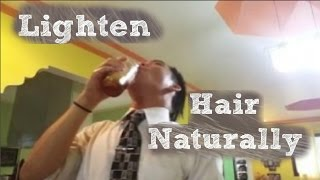 getlinkyoutube.com-How To Bleach Your Hair Using Honey.