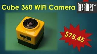 getlinkyoutube.com-Cube 360 Camera from GearBest