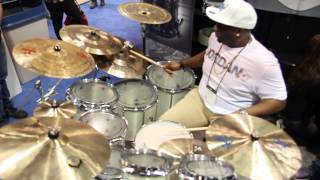 Brent Easton / Crush Drums & Percussion / NAMM 2015