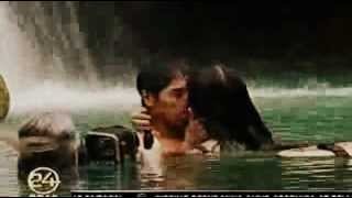 Bela Padilla with Aljur Abrenica: Kissing Scene  in Machete