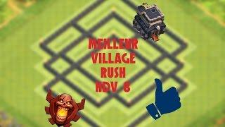 getlinkyoutube.com-Meilleur village HDV 8 Rush champion et PLUS ! - Clash Of Clans