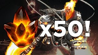 getlinkyoutube.com-Opening 50x Ghost Rider Crystals! - Marvel Contest of Champions Crystal Opening