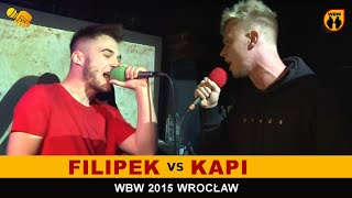 getlinkyoutube.com-bitwa FILIPEK vs KAPI # WBW 2015 Wrocław # freestyle battle