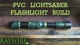 getlinkyoutube.com-How To Make A PVC Lightsaber Flashlight