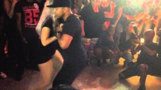 getlinkyoutube.com-Kizomba-ster Sara López bij Vegas 360° Curaçao