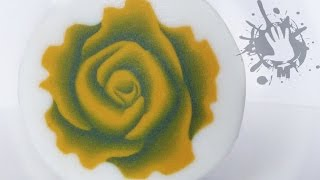 getlinkyoutube.com-Polymer clay tutorial murrina Rosa tridimensionale 2 / millefiori cane 3D Rose 2