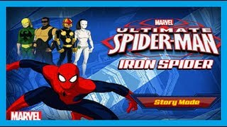getlinkyoutube.com-ULTIMATE SPIDERMAN  - IRON SPIDER ᴴᴰ - MARVEL SPIDERMAN GAMES
