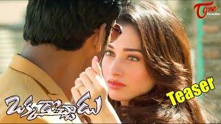 Okkadochadu Movie Teaser | Vishal, Tamanna | #Okkadochadu