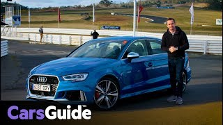 Audi RS3 sedan 2017 review: first drive video