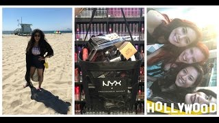 LA Vlog | Day 3 | NYX Store, Venice Beach, Walk Of Fame and much more! width=